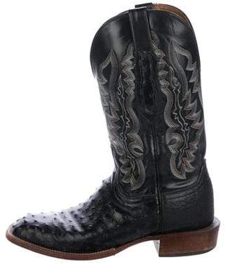 Lucchese Mad Embossed Cowboy Boots