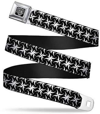 Buckle-Down Unisex-Adults Seatbelt Belt Pinwheel XL