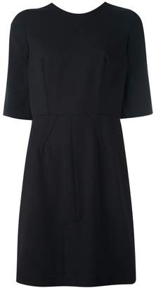 Givenchy v-back shift dress