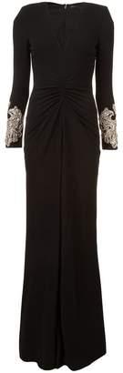 Alexander McQueen long sleeve dress