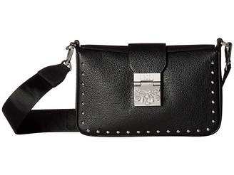 MCM Kasion Studded Outline Park Avenue Crossbody Small