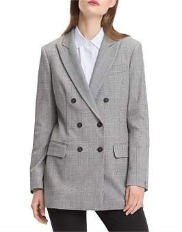Tommy Hilfiger Jaime Double Breasted Long Blazer