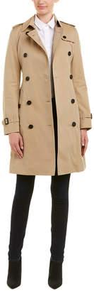 Burberry Kensington Long Heritage Trench Coat