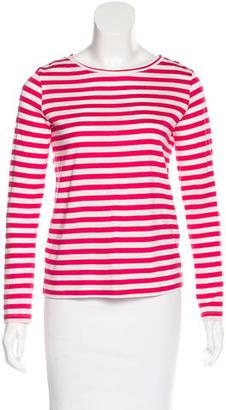 Petit Bateau Striped Long Sleeve Top $65 thestylecure.com