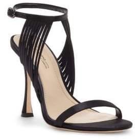 Vince Camuto Imagine Raim Satin Ankle Strap Sandals