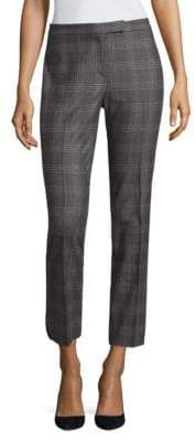 Peserico Plaid Wool-Blend Pants