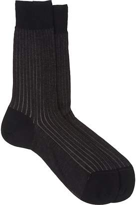 Barneys New York Men's Vanisé-Knit Mid-Calf Socks