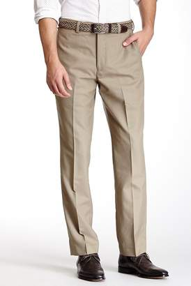 """Louis Raphael Solid Worsted Wool Modern Fit Pants - 30-34\"""" Inseam"""