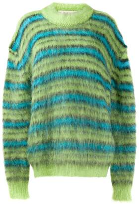 Marni oversized striped jumper