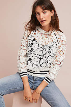 Maeve Stanton Lace Pullover