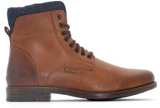 Levi's Emerson Collar Leather Ankle Boots