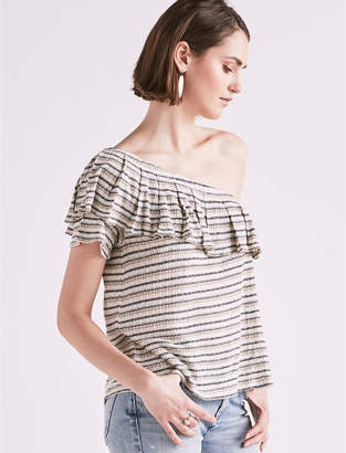 Lucky Brand Drop Needle Stripe One Shoulder