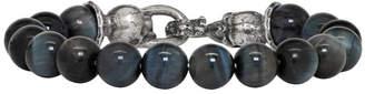 Emanuele Bicocchi Blue Stone Beaded Bracelet