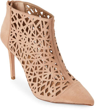 BCBGeneration Sand Dollar Hanie Laser Cut Pointed Toe Booties
