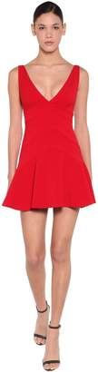 DSQUARED2 Stretch Crepe Mini Dress