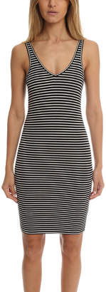 Warehouse ATM Striped Wrestler Tank Dress