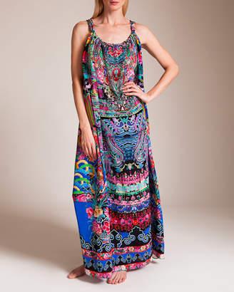 Camilla Pretty Precession Drawstring Dress