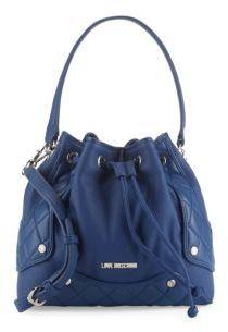 Love MoschinoCrossbody Bucket Bag