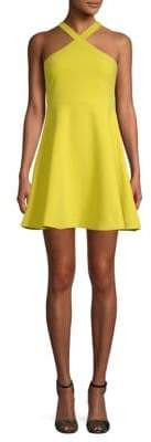 LIKELY Ashland Solid Fit-&-Flare Dress