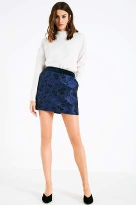 Jack Wills Hammerling Jacquard Mini Skirt