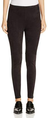 Lyssé High Waist Faux Suede Leggings $98 thestylecure.com