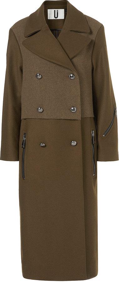 **Military Maxi Coat by Unique