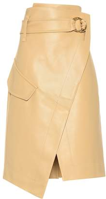 Petar Petrov Rita leather skirt