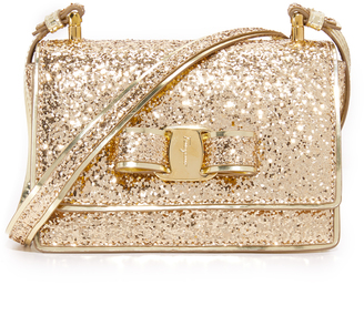 Salvatore Ferragamo Ginny Shoulder Bag $675 thestylecure.com