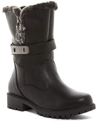 Aquatherm By Santana Canada Fifth Ave. Waterproof Faux Fur Short Boot