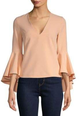 Milly Nicole Bell-Sleeve Top