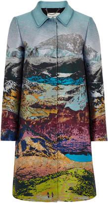 Mary Katrantzou Stephania Landscape Coat