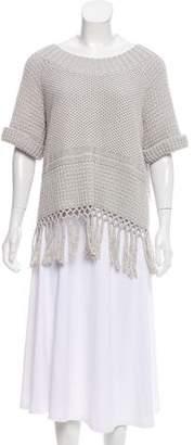Current/Elliott Short Sleeve Knit Sweater