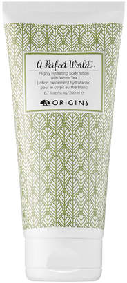 Origins A Perfect World Highly Hydrating Body Lotion With White Tea
