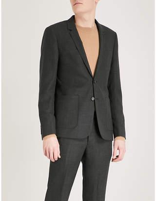 Sandro Slim-fit wool jacket