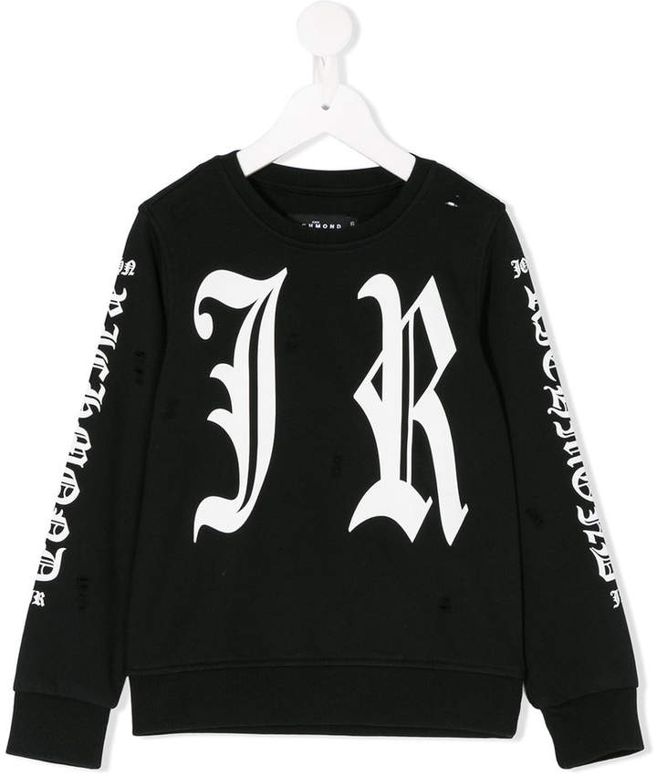 John Richmond Kids printed sweatshirt