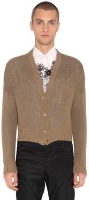 Prada Double Cashmere Knit Cardigan