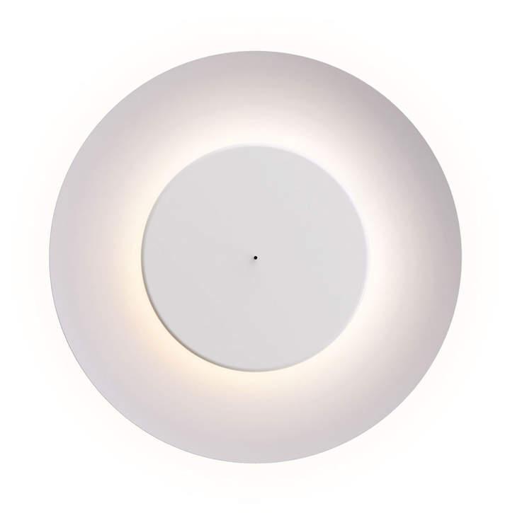 Lunaire LED Wandleuchte, Weiß / Weiß
