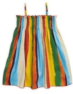 Dolce & Gabbana Little Girl's& Girl's Stripe Flare Dress