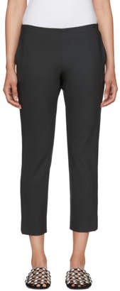 6397 Grey Piped Pull-On Trousers