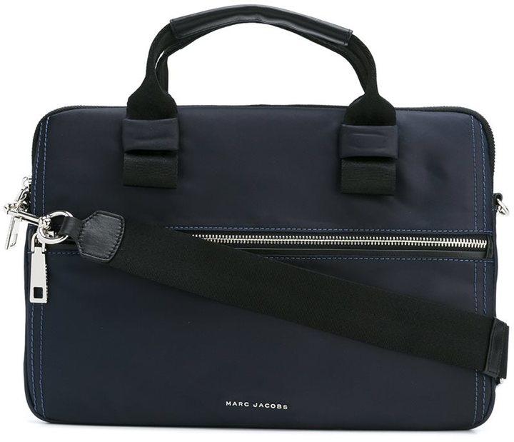 Marc JacobsMarc Jacobs zipped laptop bag