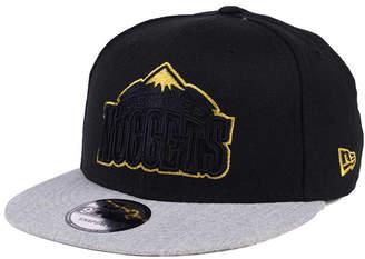 New Era Denver Nuggets Gold Tip Off 9FIFTY Snapback Cap