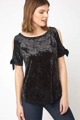 23f9b14bf4e4a Sanctuary Black Cold Shoulder Women s Tops - ShopStyle