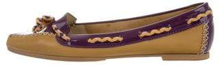 Missoni Patent Leather Square-Toe Loafers