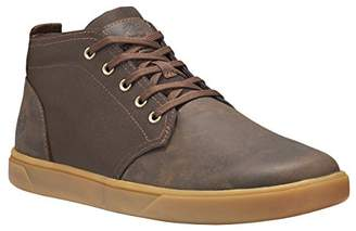 Timberland Men's Groveton LTT Chukka Leather & Fabric Sneaker
