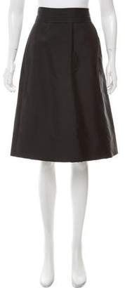 Marc Jacobs Pleated Knee-Length Skirt