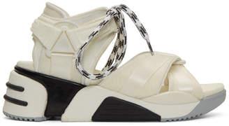 Marc Jacobs White Somewhere Sport Sandals
