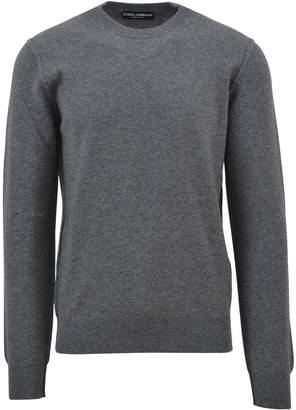 Dolce & Gabbana Grey Cashmere Sweater