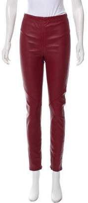 Veda Lamb Leather Legging Pants