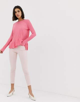 Warehouse Light Pink Skinny Jeans