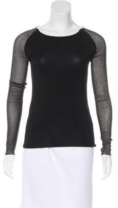 Ter Et Bantine Metallic Long Sleeve Top